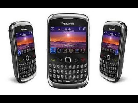 BlackBerry Curve 9300 3G Unboxing - RIM