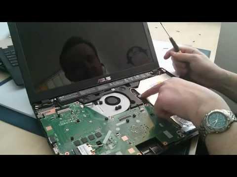 Asus Notebook F551C / F551CA / F552 / F557 Festplatte / Akku Anleitung Tutorial (HDD / Battery)