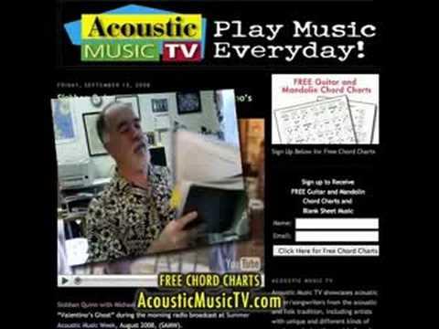 Free pdf Printable Major Guitar Chord Charts • AcousticMusicTV.com