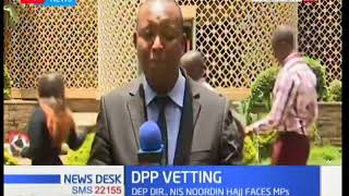 Legal house committee starts the vetting process for the next DPP