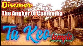 preview picture of video 'Exploring the Angkor Temple Complex, Cambodia: Ta Keo Temple'