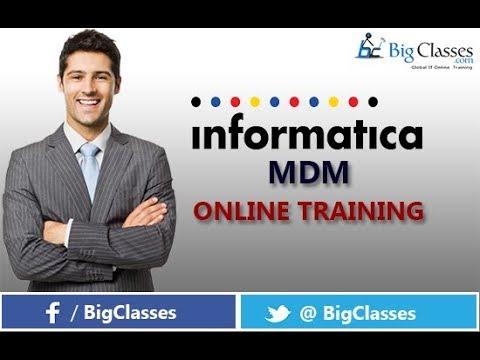 INFORMATICA MDM Training Tutorial for Beginners - Bigclasses ...