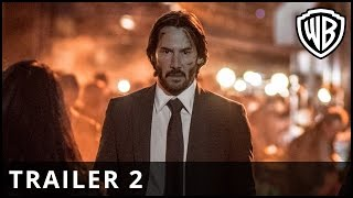 John Wick Chapter 2  Trailer 2  Warner Bros UK