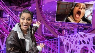 VLOGGING WHILE RIDING THE WORLD'S LARGEST ROLLER COASTER