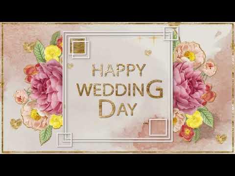 👰 🤵Happy Wedding Greeting👰 🤵