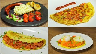 4 популярных рецепта из куриных яиц на завтрак от Всегда Вкусно!