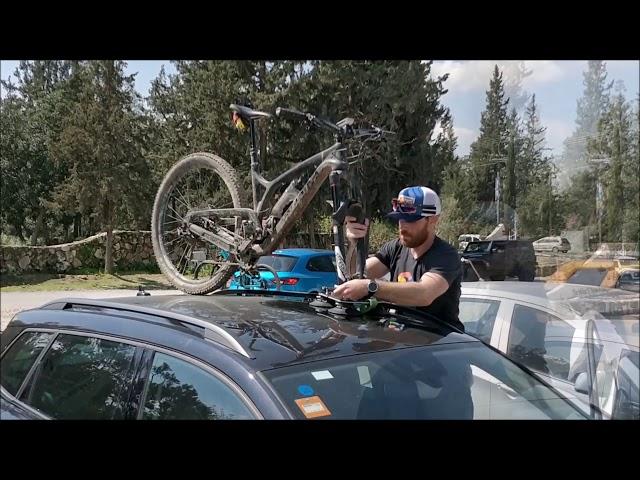 Видео Крепление на крышу Tree Frog Model Pro 1 Bike Cycle Carrier Rack
