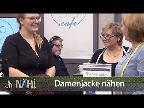 oh NÄH! – Damen-Sweatjacke von Fadenkäfer nähen (Aufz. v. 01.02.2019)