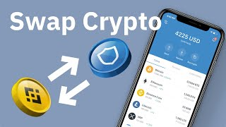 How to Swap Cryptocurrencies using Trust Wallet