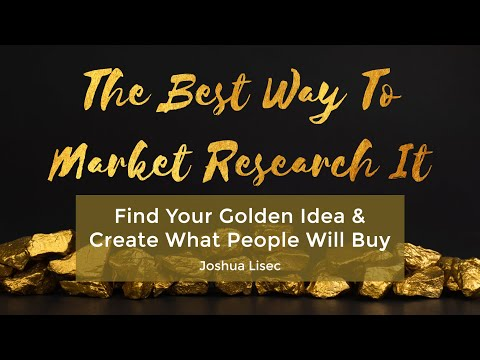 My Newest Course: The Best Way To Market Research It (And How ...