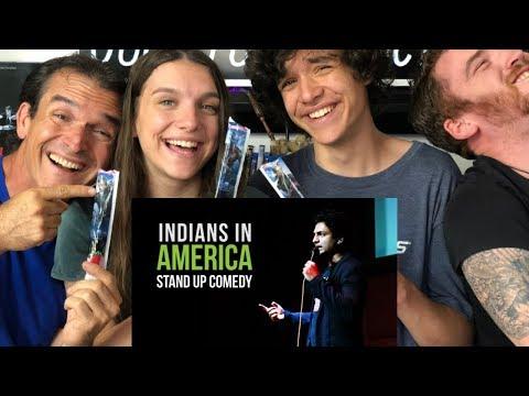 KENNY SEBASTIAN - BEING INDIAN IN AMERICA | REACTION!!