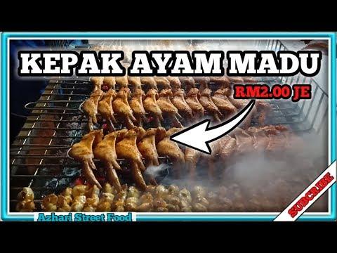 KEPAK AYAM MADU || 2 RINGGIT JE GAISS!!