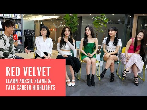 Red Velvet learn Aussie slang & talk career highlights