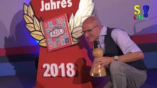 Spiel des Jahres - Autor Michael Kiesling (AZUL) im Interview nach der Preisverleihung