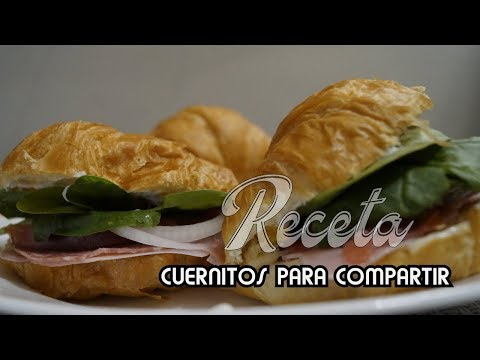 Sandwichcuernitos ♥ Receta ♥ Snacks Saludables - YouTube