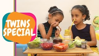 Twins Special | Are they similar? | The sandwich experiment | Cuteness overload