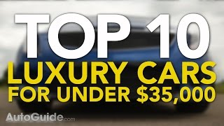Top 10 Best Luxury Cars For Under $35,000 | Best Affordable Luxury Cars