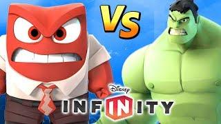 RAIVA VS HULK No Disney Infinity 3.0 Toy Box BOSS BATTLE