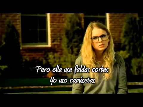 Taylor Swift   You Belong With Me Traducida en Español)