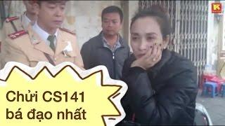 Tập 180: Nữ quái kề dao vào cổ cảnh sát 141 dọa giết (NK141)
