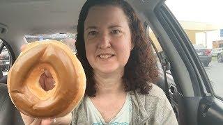 Krispy Kreme Maple Iced Glazed Donut Review