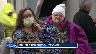 Flu season continues, not too late to get flu shot
