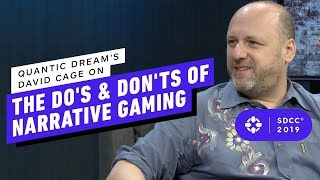 Quantic Dream's David Cage on the Do's and Don'ts of Narrative Gaming p Comic Con 2019