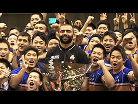 リーチ選手母校に「五郎丸じゃなくてすいません」(2015/11/06) 北海道新聞