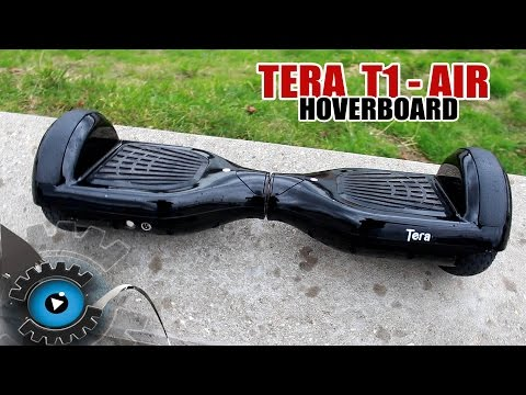 Günstiges Hoverboard/IOHAWK Tera T1-Air Review + Tricks [Deutsch/German]