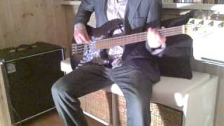 TOM PETTY & THE HEARTBREAKERS  -  MY LIFE YOU WORLD   ( Bass Cover )