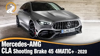 Mercedes-AMG CLA Shooting Brake 45 4MATIC+ 2020 | Primeras Imágenes e Información