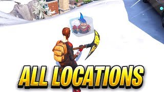 """""""Search Chilly Gnomes"""" FORTNITE MAP LOCATIONS"""