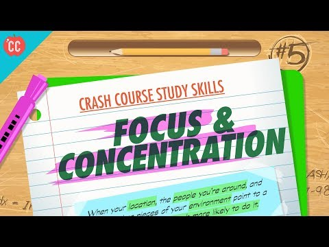 Focus & Concentration: Crash Course Study Skills #5 - YouTube