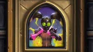 Hearthstone Puzzle - The Boomsday Project - Myra Rotspring 7/7 (Lethal 2/4)