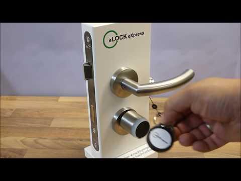 elektronische Zugangskontrolle eLOCK eXpress von Opertis