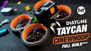 How to Build a Cinewhoop Drone to take Cinematic FPV Shots - Dyatone Tycan MXC, DJI HD build.