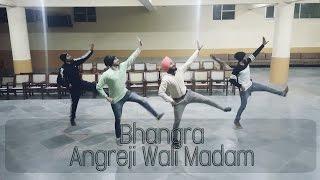 Bhangra on Angreji Wali Madam | Kulwinder Billa, Dr Zeus, Shipra | Way Of Bhangra