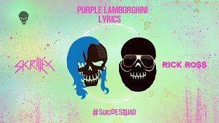Gambar cover Skrillex & Rick Ross - Purple Lamborghini Lyrics