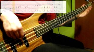 Earth, Wind & Fire   September (Bass Cover) (Play Along Tabs In Video)