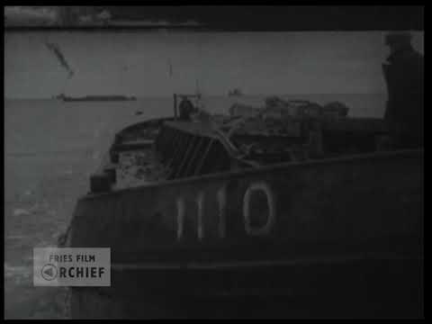 De laatste oogenblikken der afsluiting van de Afsluitdijk, 1932