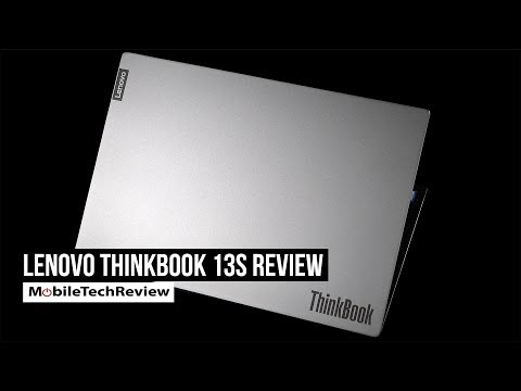 External Review Video L_5ltu8u--w for Lenovo ThinkBook Series 13S & 14S Laptops
