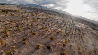 Desert FPV Flight at Sunset
