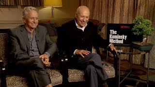 MICHAEL DOUGLAS and ALAN ARKIN Interview: The Kominsky Method