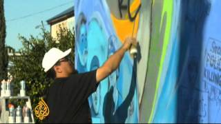 Graffiti Artists Make Their Mark In Los Angeles
