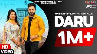 Daru | Harpreet Dhillon ft. Jassi Kaur | HDVideo | Latest Punjabi Songs 2020 | Haani Premium Studios