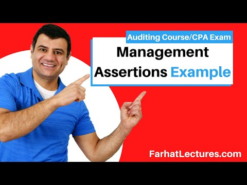 Example: Management Assertions | Auditing and Attestation | CPA ...