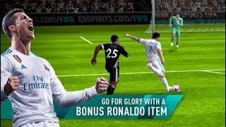 FIFA 18 MOBILE iOS  / Android Gameplay Video | New 2017 / 2018 Season With Cristiano Ronaldo Event