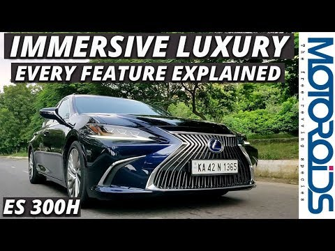 New Lexus ES 300h In-Depth India Review
