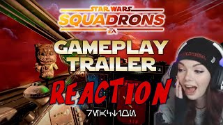 I NEED THIS GAME RIGHT NOW!! Squadrons Gameplay Reveal REACTION!