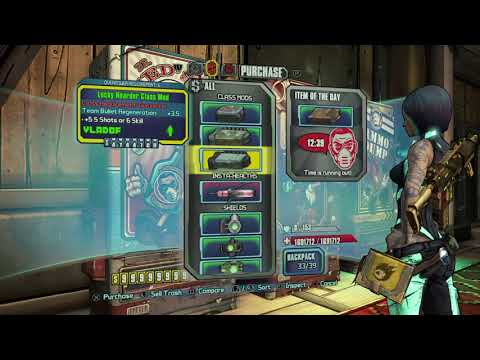 Borderlands 2 - Shield Farming Route